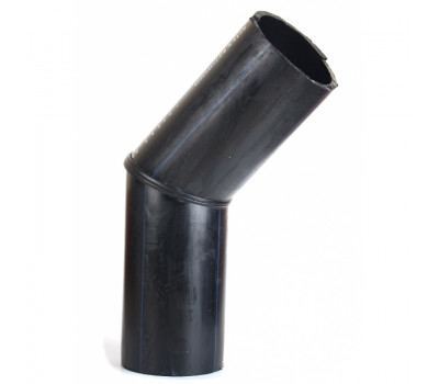 Колено 45° сегментное стыковое