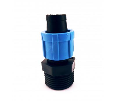 Муфта для ленты с наружной резьбой 3/4 Santehplast